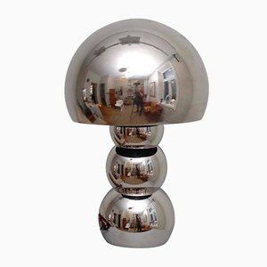 Space Age Lamp in Chrome Alloy, 1970s