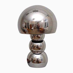 Space Age Lampe mit Chrom Legierung, 1970er