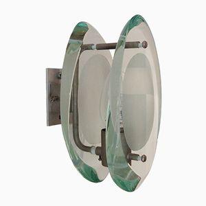Micro Glass Sconces by Max Ingrand for Fontana Arte, 1961, Set of 2