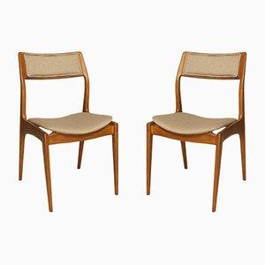 Polnische GFM-110 Mid-Century Stühle von Edmund Homa für Gościcińska Fabryka Mebli, 2er Set