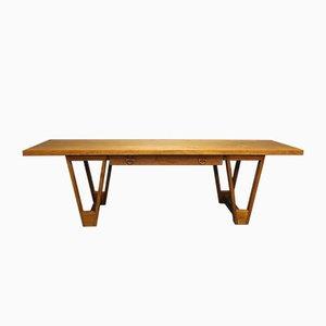 Table Basse en Teck par Illum Wikkelsø, 1960s