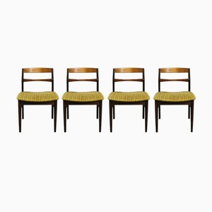 Palisander Esszimmerstühle von Arne Vodder, 1960er, 4er Set