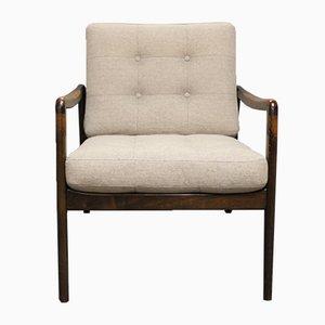Easy Chair en Teak par Kai Kristiansen, 1960s