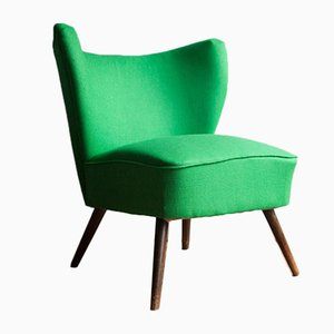 Bottle Green Cocktail Chair, 1960s