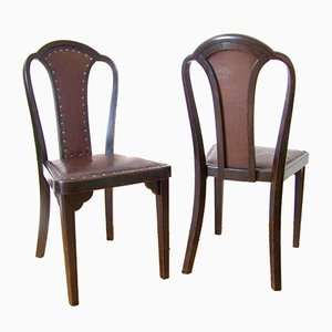 Model Nr. 918 Dining Chairs by Gustav Siegel for Thonet, 1928, Set of 2
