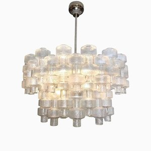 Lámpara de araña Festival de cristal de Carl Fagerlund para Orrefors