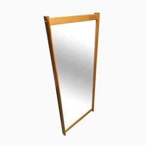Specchio da parete con cornice in quercia di Aksel Kjersgaard