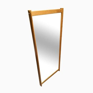 Wall Mirror with Oak Frame by Aksel Kjersgaard