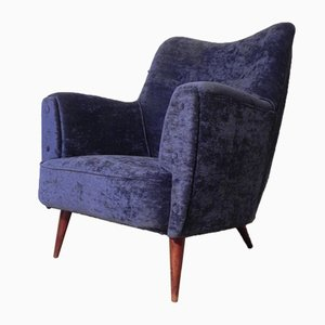 Vintage Scandinavian Club Armchair