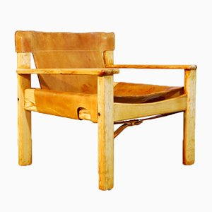 Swedish Harness Leather Natura Easy Chair by Karin Mobring for Ikea, 1970s