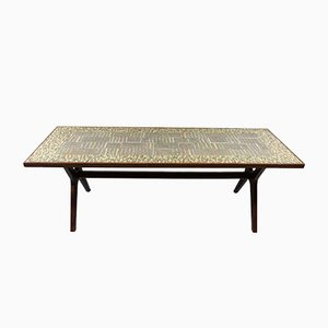 Table Basse Mosaïque par Berthold Müller-Oerlinghausen, 1950s