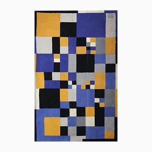 Tappeto di Sonia Delaunay per Artcurial, anni '80