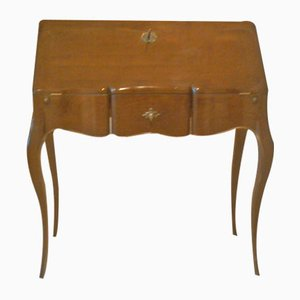 Vintage French Desk with Folding Top, 1950s