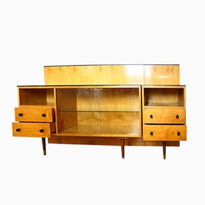 Vintage Klivie Bedroom Cabinet and Table from UP Zavody, 1960s, Set of 2