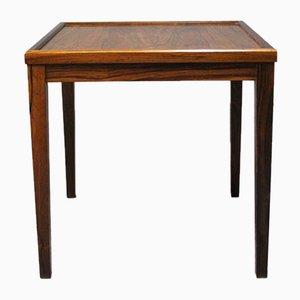 Petite Table d'Appoint en Palissandre, 1960s