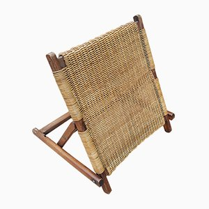 Chaise de Plage Pliante (avec Appui-Dos), 1900s