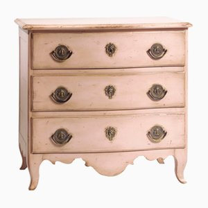 Vintage French Commode in Light Pink