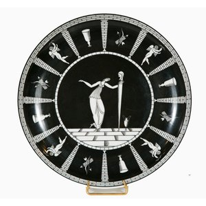 Plate by Gio Ponti for Ginori, 1924