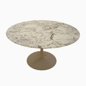 Modell 137 Marmor Tulip Tisch von Eero Saarinen für Knoll, 1960er