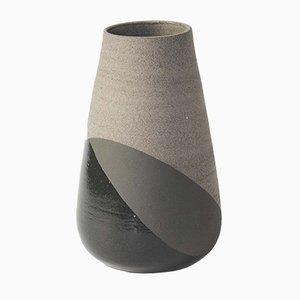 Jarrón Shake grande en negro y gris de Anja Borgersrud para Anbo Design