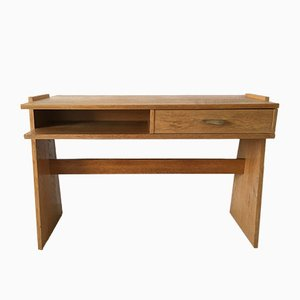 Vintage Small German Constructivist Desk from Ernst Merkel