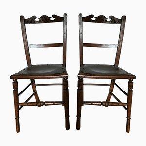 Estonische Bistro Stühle von Luterma, 1900er, 2er Set