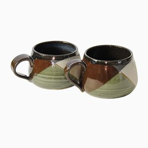 Tazas de café Shake pequeñas de Anbo Design. Juego de 2