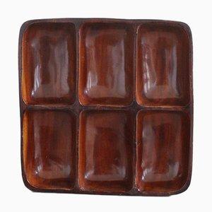 Vintage Mahogany Tray