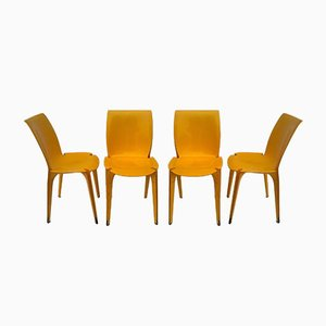 Lambda Dining Chairs by Marco Zanuso for Gavina, 1963, Set of 4