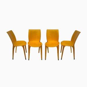 Lambda Esszimmerstühle von Marco Zanuso für Gavina, 1963, 4er Set