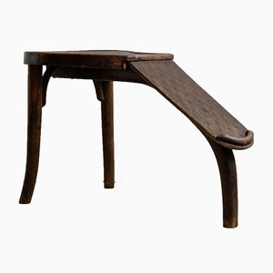 Antique Bentwood Shoe Salesmen Bench from Thonet