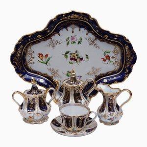 Antique Old Paris Hand-Painted Porcelain Petit Dejeuner