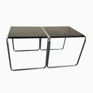 Vintage Tische von Marcel Breuer für Gavina, 2er Set