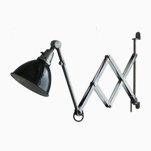 Vintage Midgard DDRP Scissor Light in Optical Steel by Curt Fischer for Industriewerke Auma