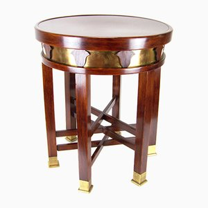 Viennese Secession Tabouret with Six Legs, 1910s