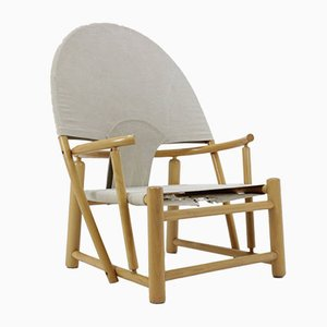 """Mid-Century Lounge """"Hoop"""" Chair G23 by Piero Palange & Werther Toffoloni for Germa"""