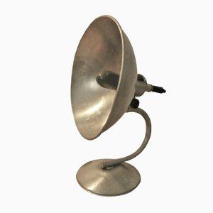 Lámpara de mesa industrial Mid-Century, años 50