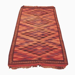 Large Hand-Woven Uzbek Rug