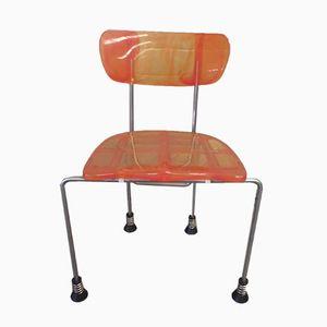 Orange Yellow Broadway Chair by Gaetano Pesce for Bernini, 1993