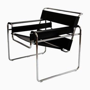 Poltrona Wassily Bauhaus di Marcel Breuer