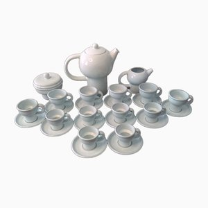 Servicio de té Terra Pannonia de Carl Auböck para Ostovic Culinar, años 70