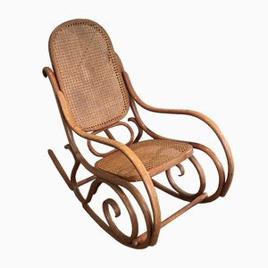 Rocking Chair Vintage en Contreplaqué, 1970s