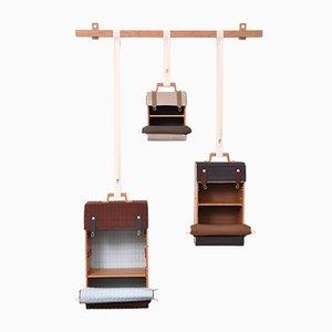 Meuble de Rangement Tassenkast avec 3 Sacs par Lotty Lindeman