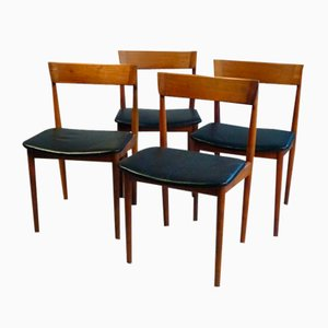 Model 39 Dining Chairs by Henry Rosengren Hansen for Brande Møbelindustri, 1960s, Set of 4