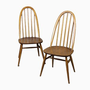 Mid-Century Dining Chairs by Lucian Ercolani for Ercol, 1950s, Set of 2