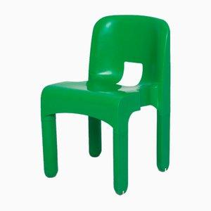 Sedia verde di Joe Colombo per Kartell
