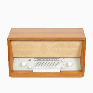 Radio Model TS 3 Vintage par Herbert Hirche pour Braun