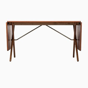 Extendable AT-309 Dining Table by Hans J. Wegner for Andreas Tuck