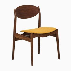 Chaise de Salle à Manger en Teck et en Chêne par Erik Buck pour Vamo