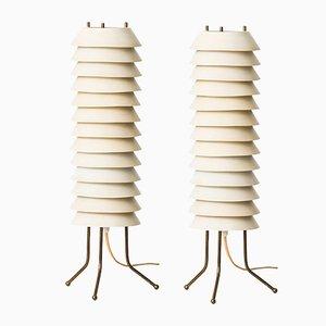 Lampes de Table Maya l'Abeille par Ilmari Tapiovaara, Set de 2